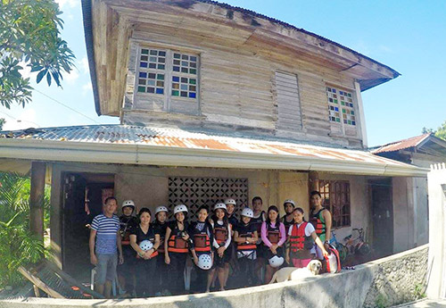 At Sir Isua's Place (photo by Ly Patromo)