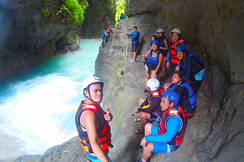 Cebu Canyoneering or Canyoning