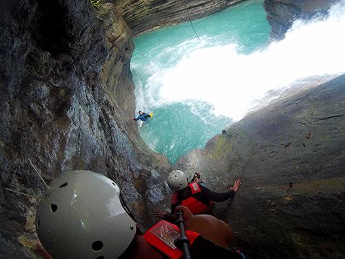 cebu canyoneering slide and drop