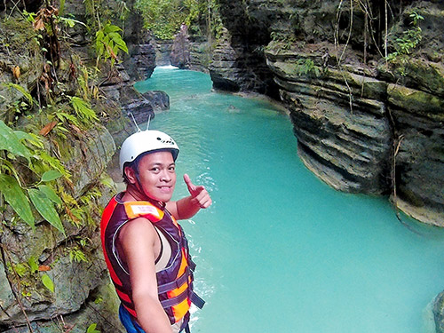 Ian Limpangog for Cebu Canyoneering