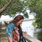 "Corinne Grace ""Cookie"" Santelices at Talabong Mangrove Forest and Bird Sanctuary, Bais City"