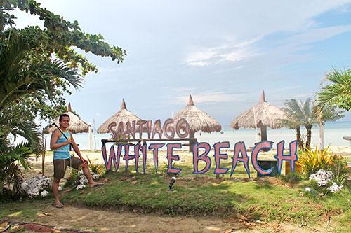 Santiago Bay White Beach, Camotes Island