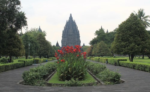 The temple of Brahma in Candi Prambanan