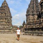 Ian Limpangog at Candi Prambanan