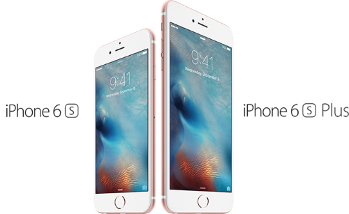 iPhone 6s and iPhone 6s Plus