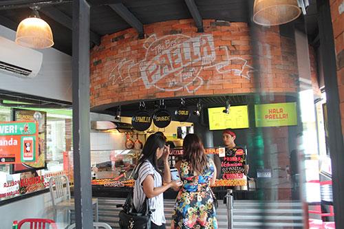 hala paella shop in Banilad Town Center
