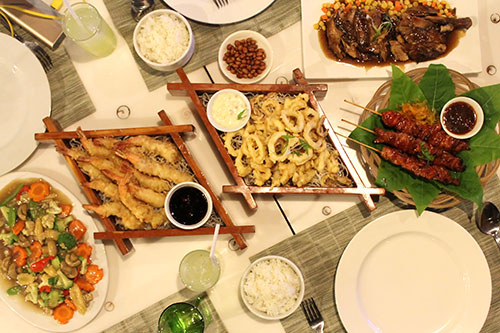 Ocean Garden Restaurant's treat to Cebu Food Crawlers