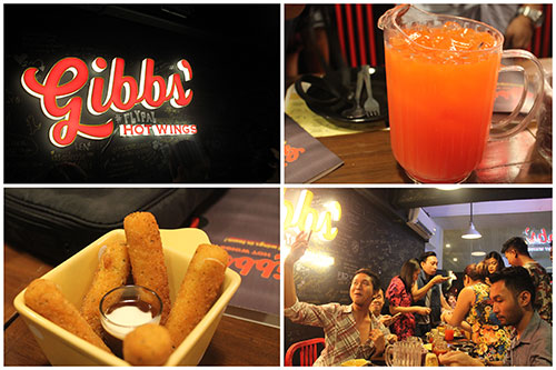 Cebu Food Crawlers at Gibbs' Hot Wings