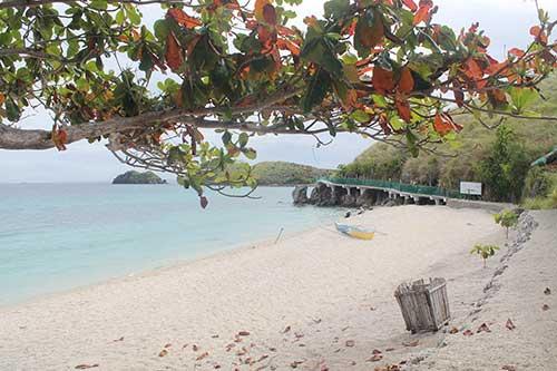 Pebbly Beach of Sambawan Island