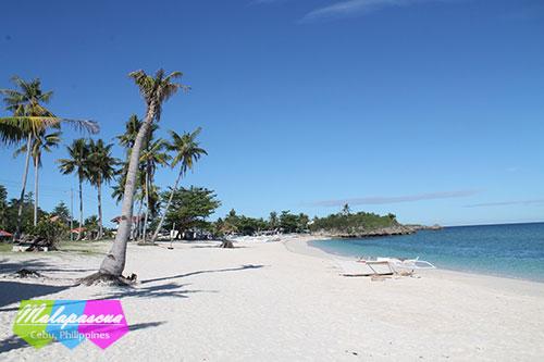 Malapascua's northern strip, Langub Beach