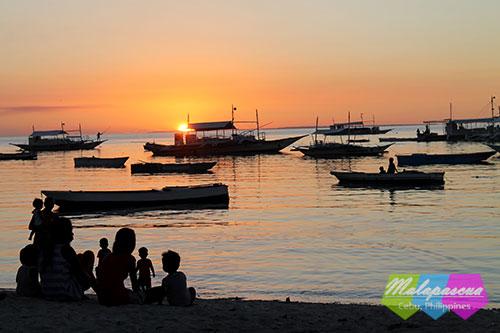 Always a beautiful sunset at Malapascua
