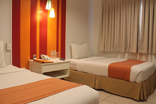Escario Central Hotel Twin room