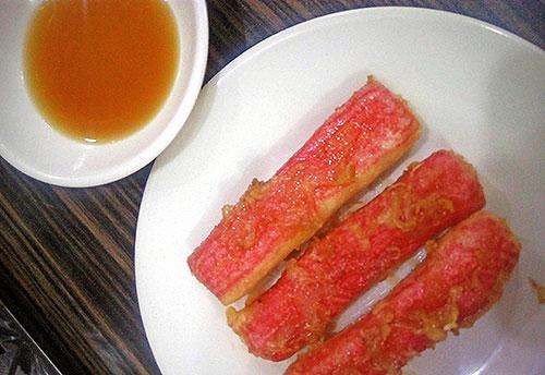 Kushi Kazu's Kani tempura
