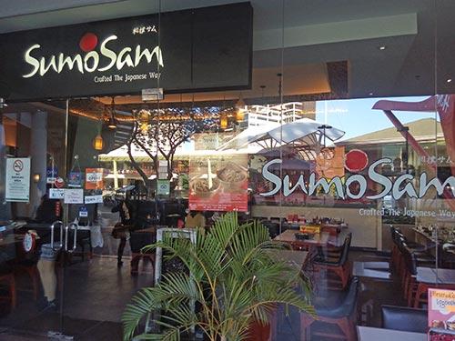 Sumo Sam at Ayala Center Cebu