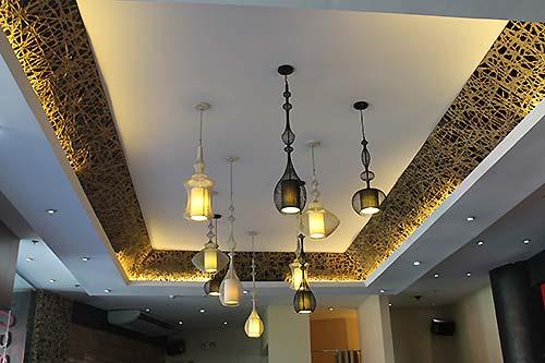 Flashy lighting of SumoSam Ayala Center Cebu