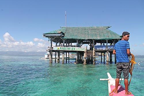 Nalusuan Island Boat station