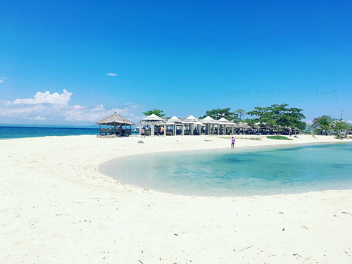 Pandanon Island's awesome sand bar