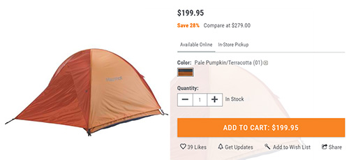 Marmot Ajax 3 Tent
