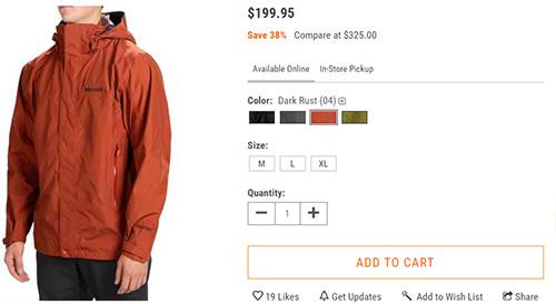 Marmot Cornice Gore-Tex® Jacket