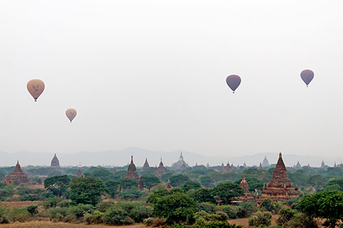 The vastness of Bagan: Who won't be stunned with these architectural beauty?