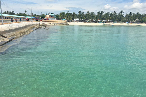 Bantayan seaport, the main point of entry