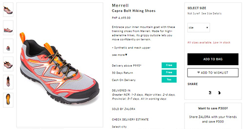 Merrell Capra Bolt Hiking Shoes