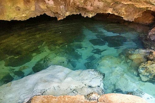 Ogtong Cave pool