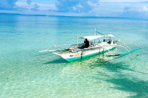 Bantayan Island outrigger