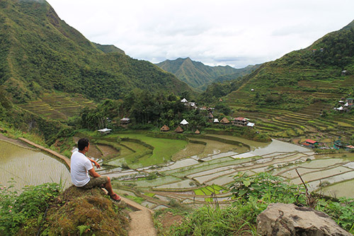 The place where I realized, a major turning point in Batad Rice Terraces
