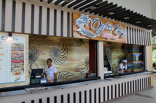 Oyster Bay is among the handpicked tenants of Mactan Al Fresco