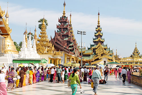 Interesting temples within Shwedagon complex