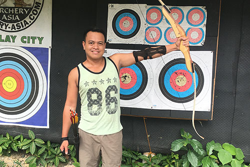 Archery-Asia Sipalay target range