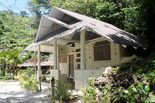 The mud house in Danjugan Island