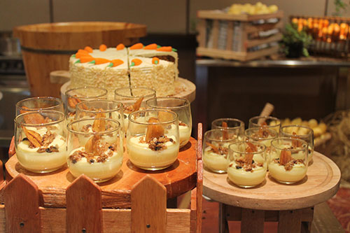 Healthy desserts by Cebu Marriott