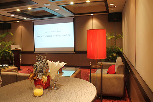 Cebu Marriott's Gumamela function room