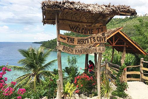 Hermit's Cove stairway gate