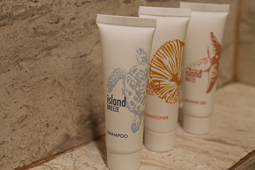 Free Toiletries of Montebello Villa Hotel