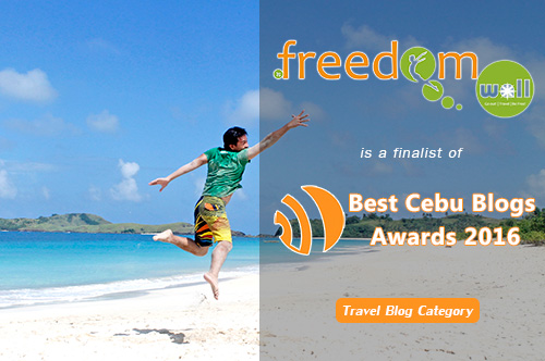 Freedom Wall is Best Cebu Travel Blog 2016 Finalist