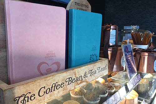 Coffee Bean and Tea Leaf Giving Journal 2017