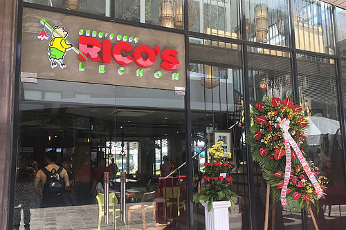 Rico's Lechon Axis branch