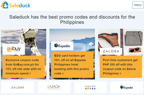 SaleDuck offers discount vouchers and promo codes that will help you save on your travel expenses