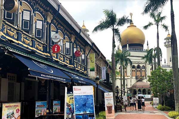 A beautiful alley of Kampong Glam