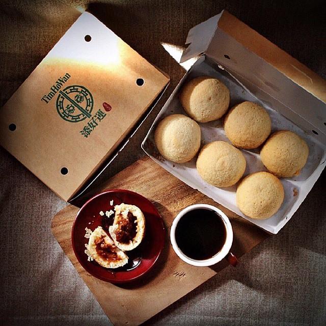 Tim Ho Wan's best-selling pork buns