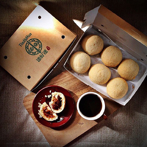 Tim Ho Wan's best-selling pork buns