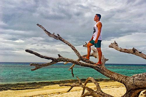 ian limpangog in Kalanggaman Island