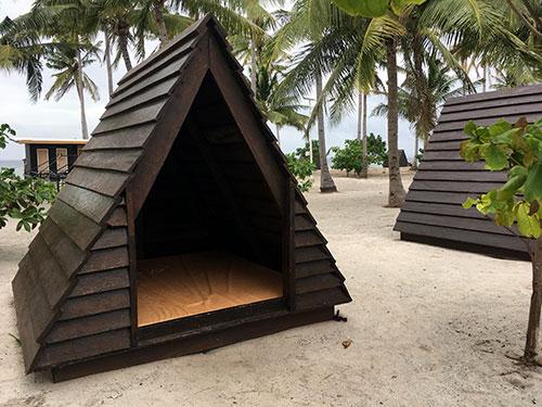 Kalanggaman Island accommodation