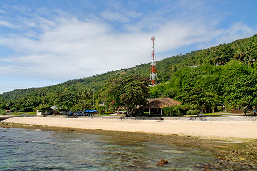 Sumilon Island port