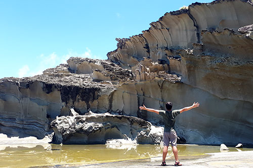 Biri's Magasang Rock formation