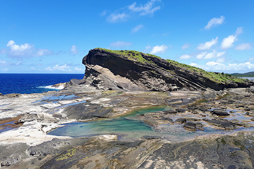 Masapad Rock Formation and Tidal Pool in Biri Island