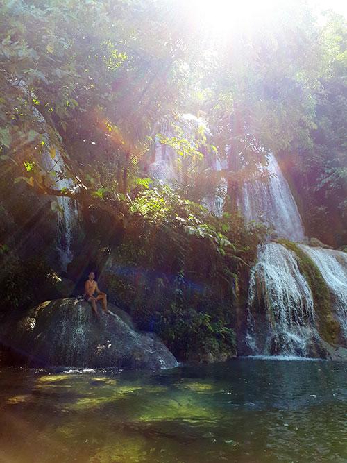 Enchanting Karap-agan Falls